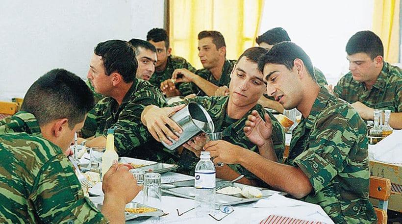 Στρατός Ξηράς: Συσσίτιο με κέτερινγκ σε Σχολή Ευελπίδων και φυλάκια!