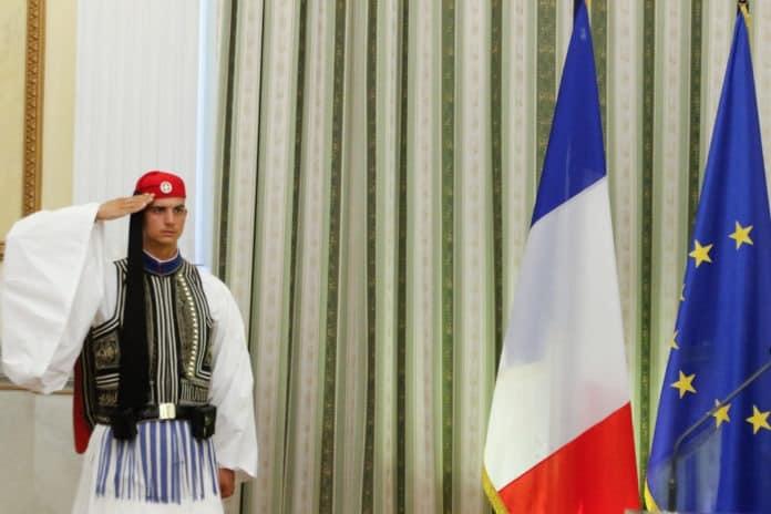 Ελλάς - Γαλλία - Συμμαχία μεταφρασμένο σε ευρώ