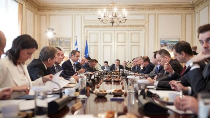 Κορονοϊός μέτρα: Συνεδριάζει το υπουργικό συμβούλιο 24 Μαρτίου