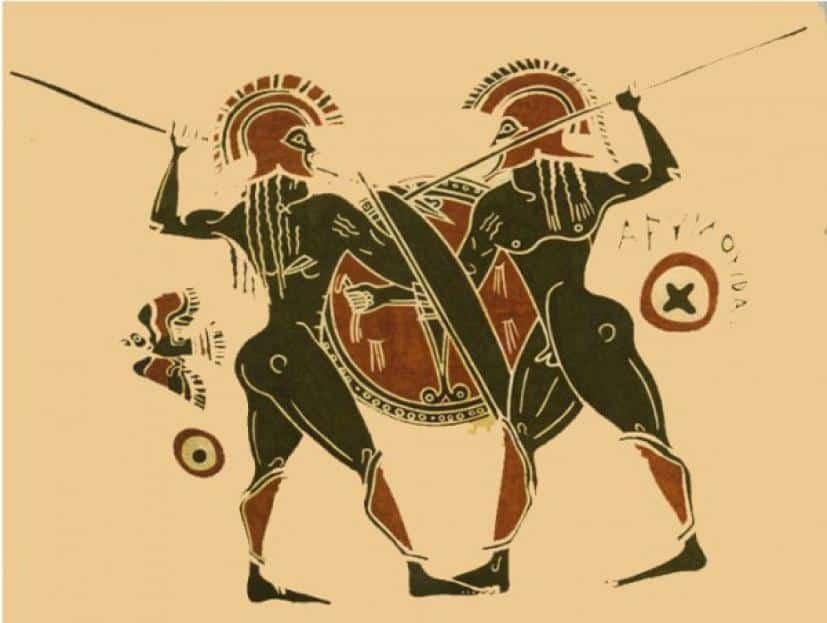 Το Πεζικό στο στρατό της Αρχαίας Σπάρτης - Γιατί φορούσαν κόκκινο μανδύα - Γιατί πρωτοστάτης και ουραγός είχαν μεγάλη αξία στο στράτευμα