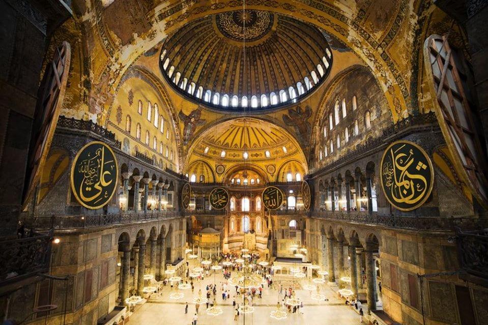 Αγία Σοφία: Πρόκληση για τον παγκόσμιο πολιτισμό η μετατροπή σε τζαμί Η άλωση της Πόλης η Αγία Σοφία και οι βλέψεις του Ερντογάν