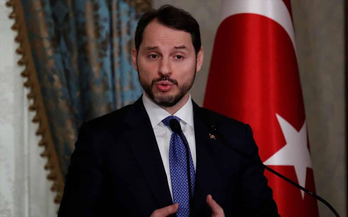 Ο γαμπρός του Ερντογάν Αλμπαϊράκ πάει για ΥΠΕΞ στην Τουρκία