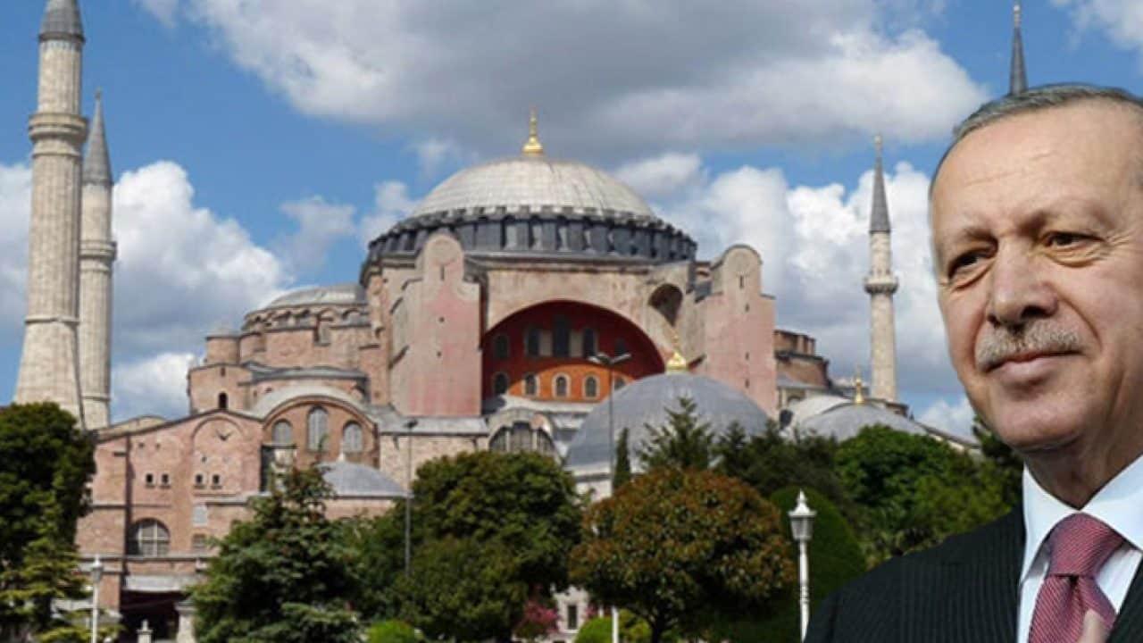 Πρόκληση Ερντογάν: Προσευχή αύριο 29 Μαϊου στην Αγία Σοφία