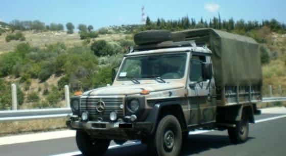 Σουφλί: Τροχαίο με στρατιωτικό όχημα
