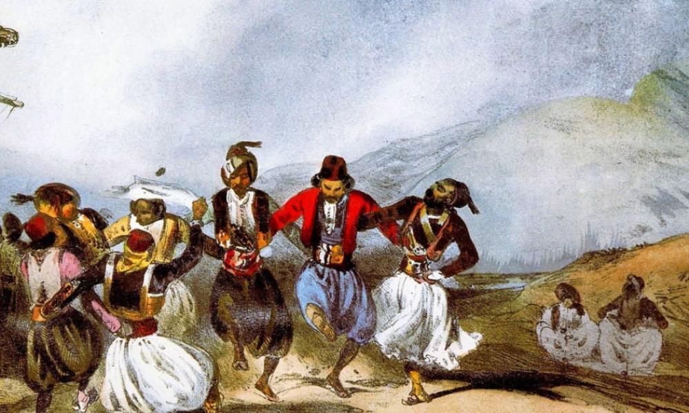 8 Μαϊου 1821: Χάνι της Γραβιάς Έλληνες συνθλίβουν τους Τούρκους Οδυσσέας Ανδρούτσος
