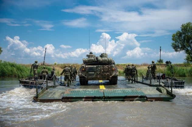 Έβρος: Διάβαση Ευκαιρίας Υδάτινου Κωλύματος -Ενεργητική Άμυνα ΦΩΤΟ