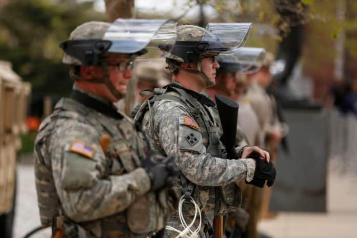 ΗΠΑ: Ο covid-19 χτύπησε την Εθνοφρουρά στις διαδηλώσεις!