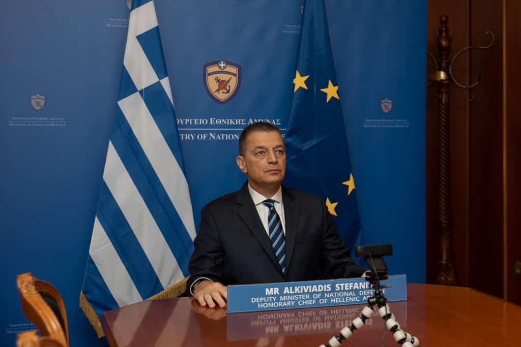 Αλκιβιάδης Στεφανής σε Γράμμο Βίτσι κατά «Κομμουνιστοσυμμοριτών» - Συμμετοχή στην γιορτή της ΕΑΑΣ εκπροσωπώντας πρωθυπουργό και κυβέρνηση Μπορέλ: Το τουρκικό πλοίο μετέφερε φάρμακα στη Λιβύη - Τι είπαν στην άτυπη σύνοδο υπουργών άμυνας της ΕΕ που συμμετείχε και ο Αλκιβιάδης Στεφανής