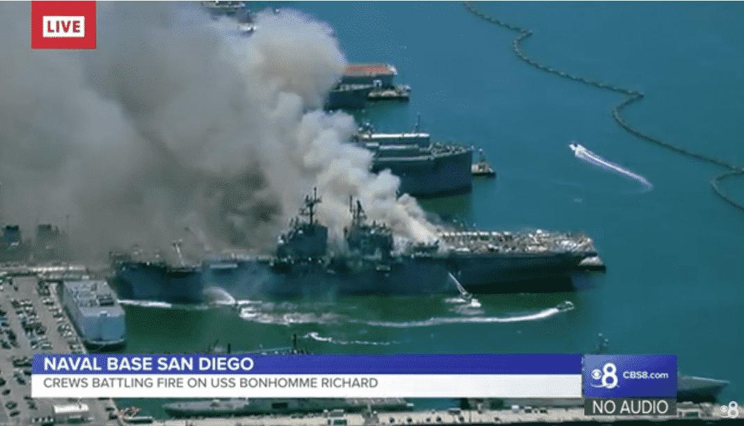 καταδρομικό USS Bonhomme Richard