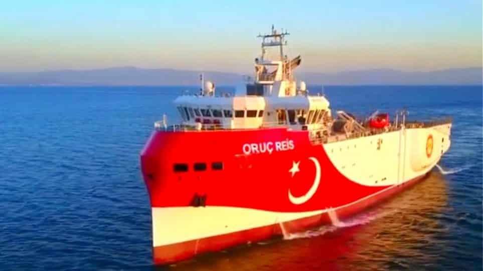Oruc Reis: Η Τουρκική πρεσβεία στις ΗΠΑ λέει ότι ξεκίνησε έρευνες - Το ερευνητικό σύμφωνα με το MarineTraffic παραμένει ακίονητο στην Αττάλεια