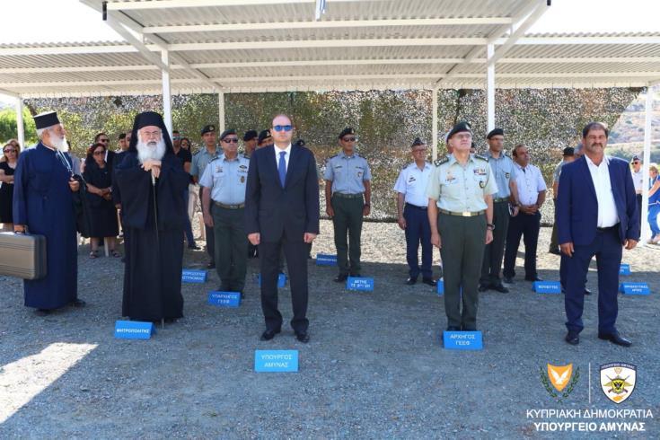 Ο νέος ΥΠΑΜ Κύπρου στο μνημόσυνο των Φλωράκη - Δεμένεγα