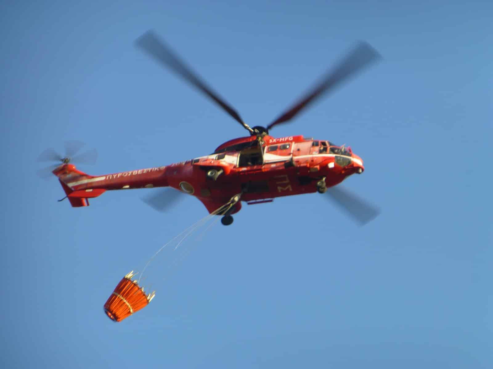 Πυροσβεστική: Προσλήψεις πιλότων για τα Super Puma AS-332