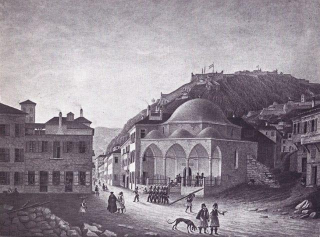 Ο Νικηταράς ζητούσε το τζαμί στο Ναύπλιο να γίνει θέατρο, με επιστολή του προς τον υπουργό εσωτερικών Γρηγόριο Δικαίο ή Παπαφλέσσα