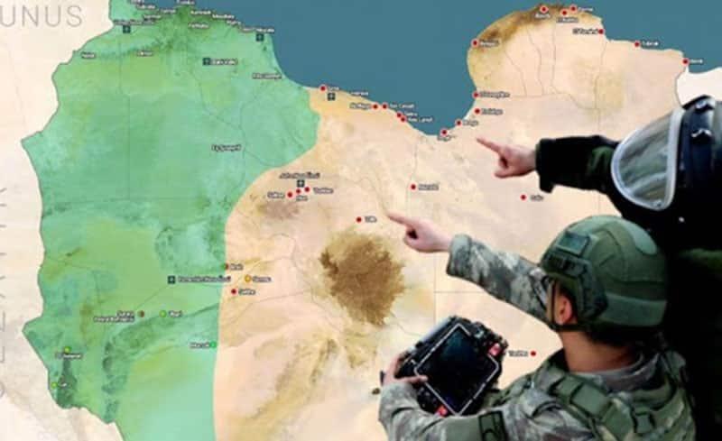 Τζούφρα: Η τουρκία θέτει νέο στρατιωτικό στόχο στη Λιβύη