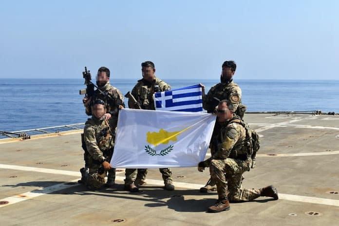 Ελληνοτουρκικά: Ελλάδα Κύπρος Γαλλία Ιταλία ένωσαν δυνάμεις στην άσκηση στην EUNOMIA Εντυπωσιακό VIDEO - Ανακοίνωση ΓΕΕΘΑ