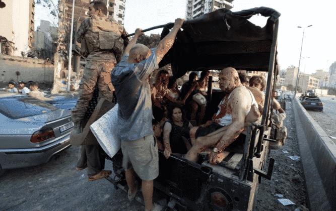 Βηρυτός: Έκρηξη με 2,5 τόνους νιτρικό αμμώνιο