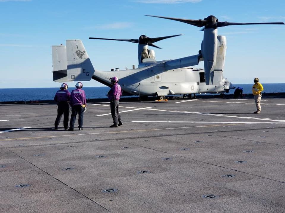 """Ο Τζ. Πάιατ προαναγγέλλει άφιξη πλωτού «θηρίου» των ΗΠΑ στην Ελλάδα, το νέο απόκτημα του Αμερικανικού Ναυτικού USS Hershel """"Woody"""" Williams"""