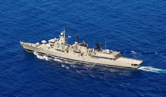 Kemal reis Φρεγάτα ΛΗΜΝΟΣ: Πληροφορίες ότι «ακούμπησε» με τουρκικό πλοίο