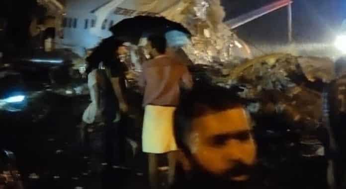 Ινδία: Αεροσκάφος με 191 επιβάτες κόπηκε στη μέση στην προσγείωση