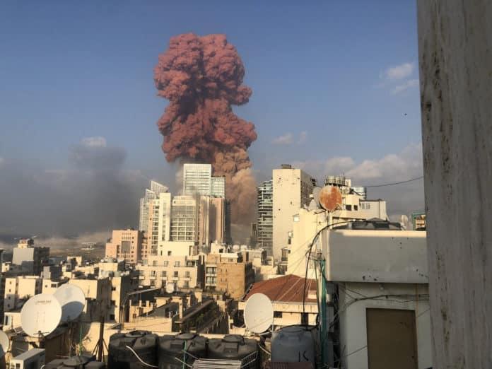 Έκρηξη στη Βηρυτό ακούστηκε μέχρι την Κύπρο - ΣΥΝΑΓΕΡΜΟΣ
