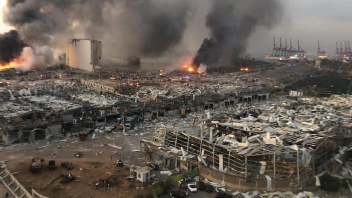 Βηρυτός έκρηξη: 70 νεκροί - Προσοχή Σκληρές εικόνες