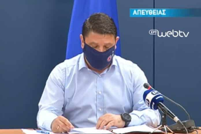live χαρδαλιάς Κορονοϊός 21/10: Έκτακτα μέτρα ανακοινώνει LIVE ο Χαρδαλιάς Χάρτης υγειονομικής Ασφάλειας covid-19: Ανακοίνωση Χαρδαλιά Χάρτης υγειονομικής Ασφάλειας Κορονοϊός - νέα μέτρα: Κλείνουν ψιλικατζίδικα και περίπτερα