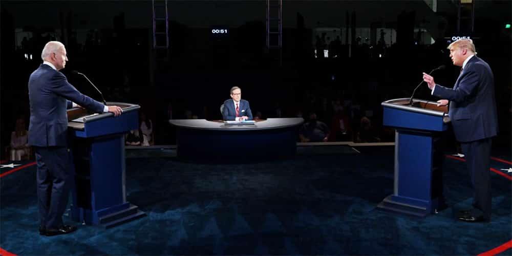 Αμερικανικές εκλογές: Ντιμπέιτ Τραμπ-Μπάιντεν με ύβρεις & προσβολές