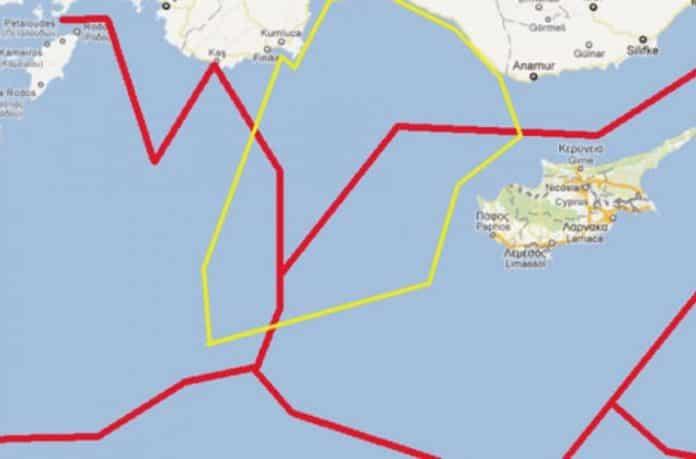 ΑΟΖ: Η Τουρκία παραχωρεί έκταση τριπλάσια της Κύπρου στην Αίγυπτο