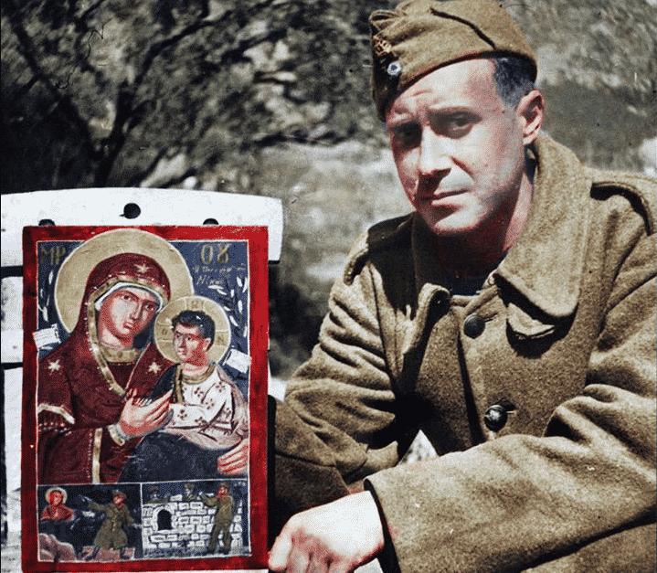 28η Οκτωβρίου: Η Παναγιά της Νίκης στο μέτωπο από τον Γιάννη Τσαρούχη