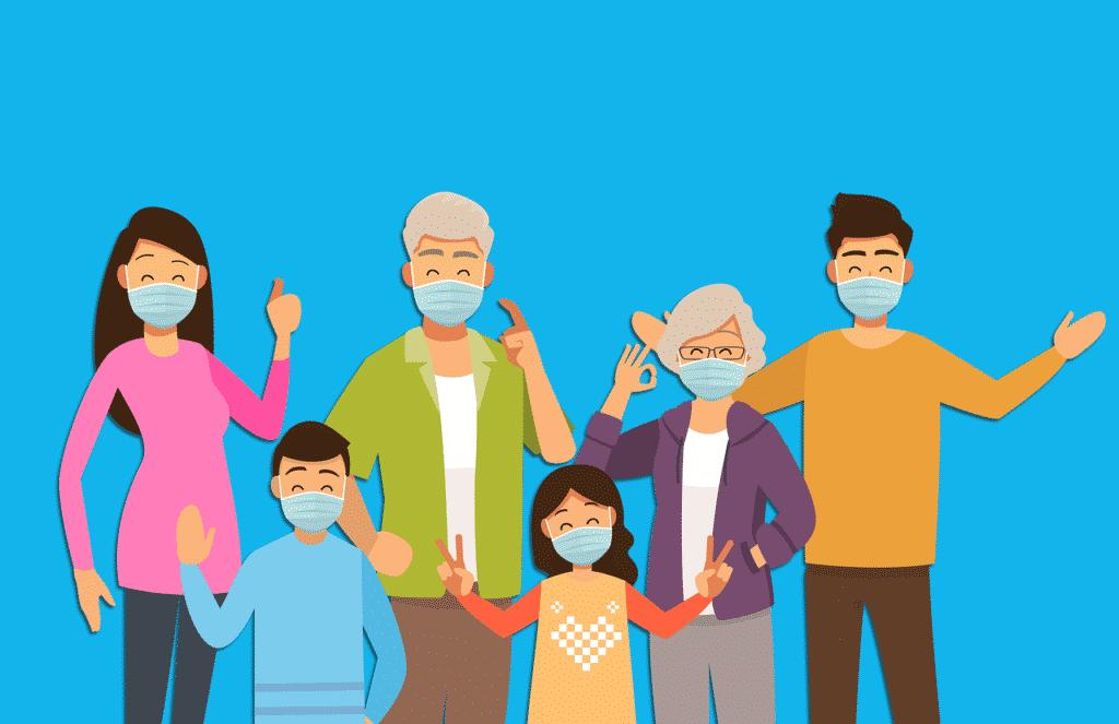 Κορονοϊός: Πόσους συγγενείς του μολύνει ένας ασθενής με covid-19