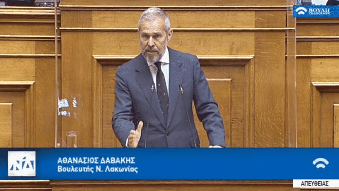 Επανέρχεται ο Δαβάκης για τους ΑΣΣΥ 1990 Θανάσης Δαβάκης: Καλώς επιμένουμε στη διπλωματία των κυρώσεων υποστηρίζει σε άρθρο του ο πρώην ΥΦΕΘΑ και Βουλευτής ΝΔ Λακωνίας