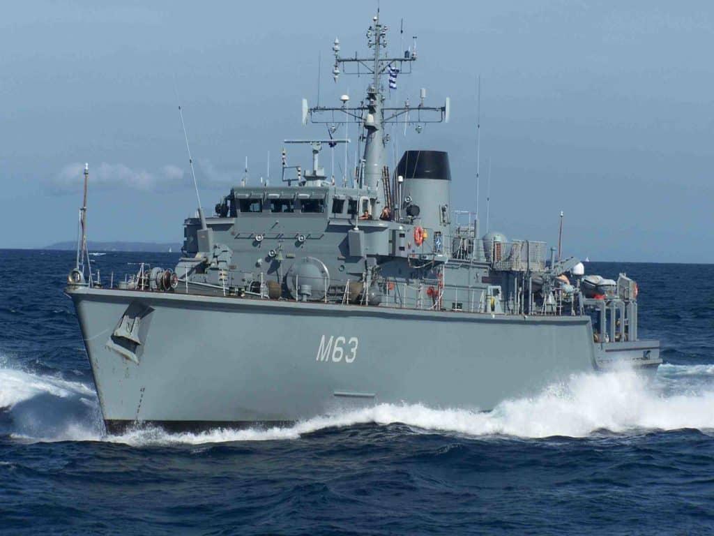 Πολεμικό Ναυτικό Ν/Θ ΚΑΛΛΙΣΤΩ: Σύγκρουση με πλοίο στον Πειραιά