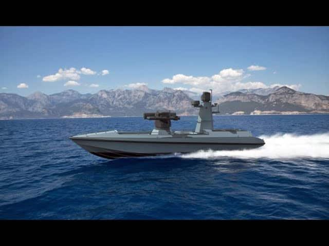 Το πρώτο μη επανδρωμένο πλοίο - drone ULAQ παρουσίασε η Τουρκία