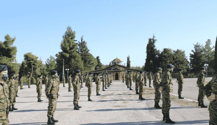 Στρατός Ξηράς ορκομωσία εσσο νοεμβρίου