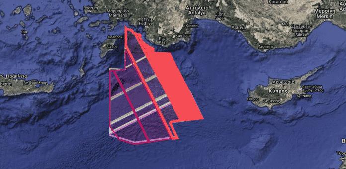 Νέα τουρκική NAVTEX για το Oruc reis εκδόθηκε σήμερα το πρωί - Επιστρέφει για έρευνες στο Καστελόριζο γκριζάροντας την περιοχή ανάμεσα στην Ελλάδα και την Κύπρο