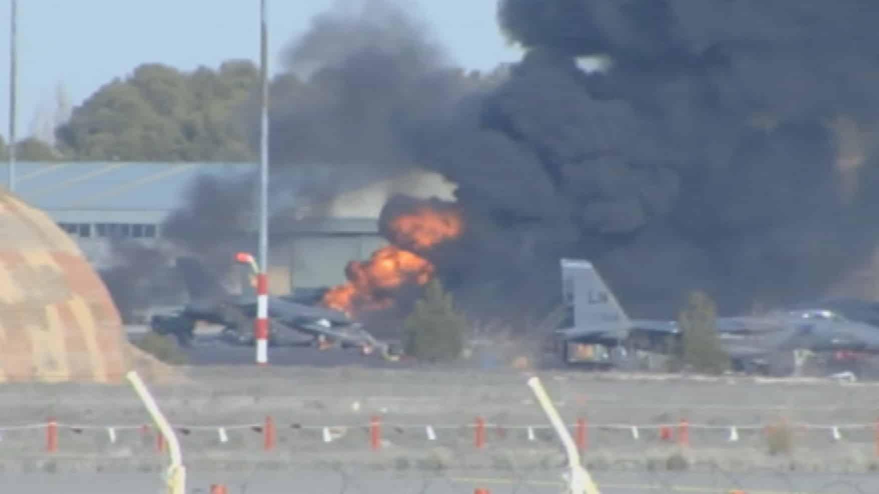 F-16: Σαν σήμερα 26 Ιανουαρίου η αεροπορική τραγωδία στο Αλμπαθέτε