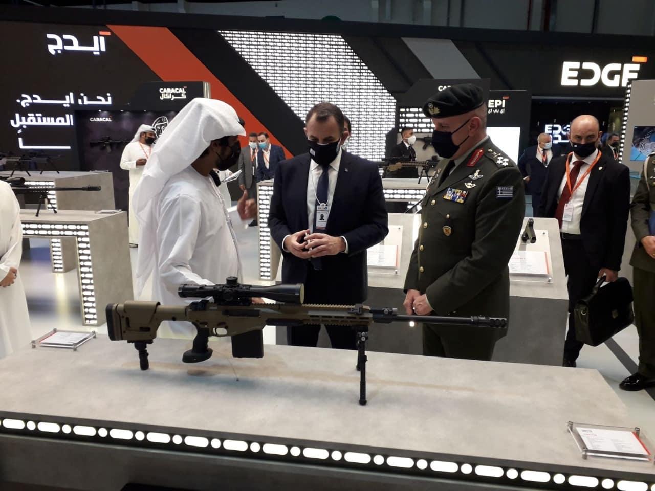 Αρχηγός ΓΕΕΘΑ: Επίσκεψη στρατηγού Φλώρου στα ΗΑΕ