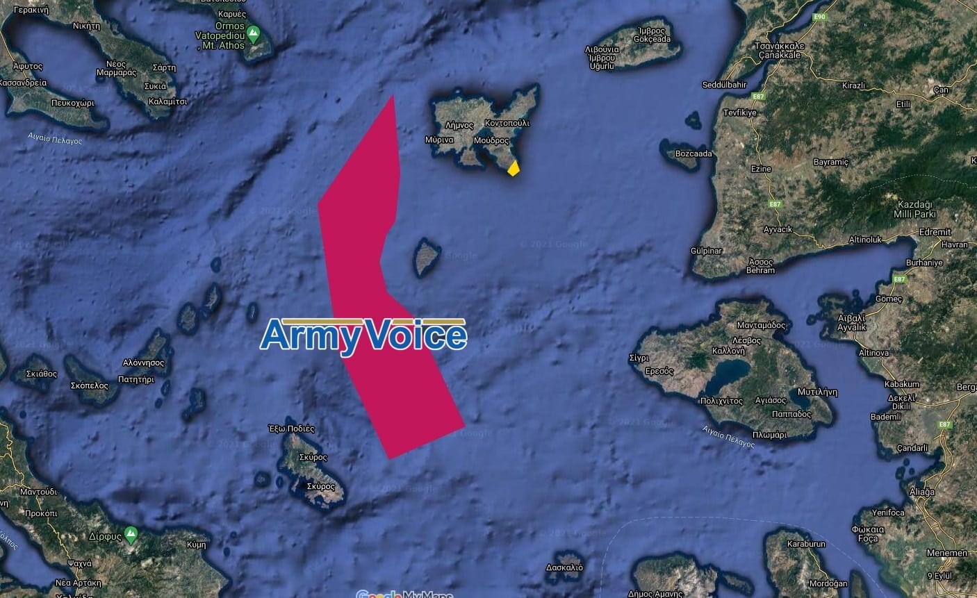 Τσεσμέ Δαρδανέλια NAVTEX για έρευνες στο Αιγαίο από το ΤΣΕΣΜΕ από την Τουρκία